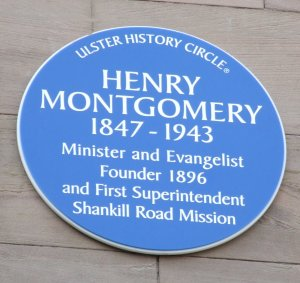 Montgomery Blue Circle Plaque