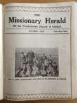 Cover - The Missionary Herald - October 1932