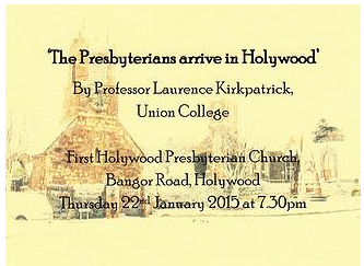 The Presbyterians Arrive In Holywood